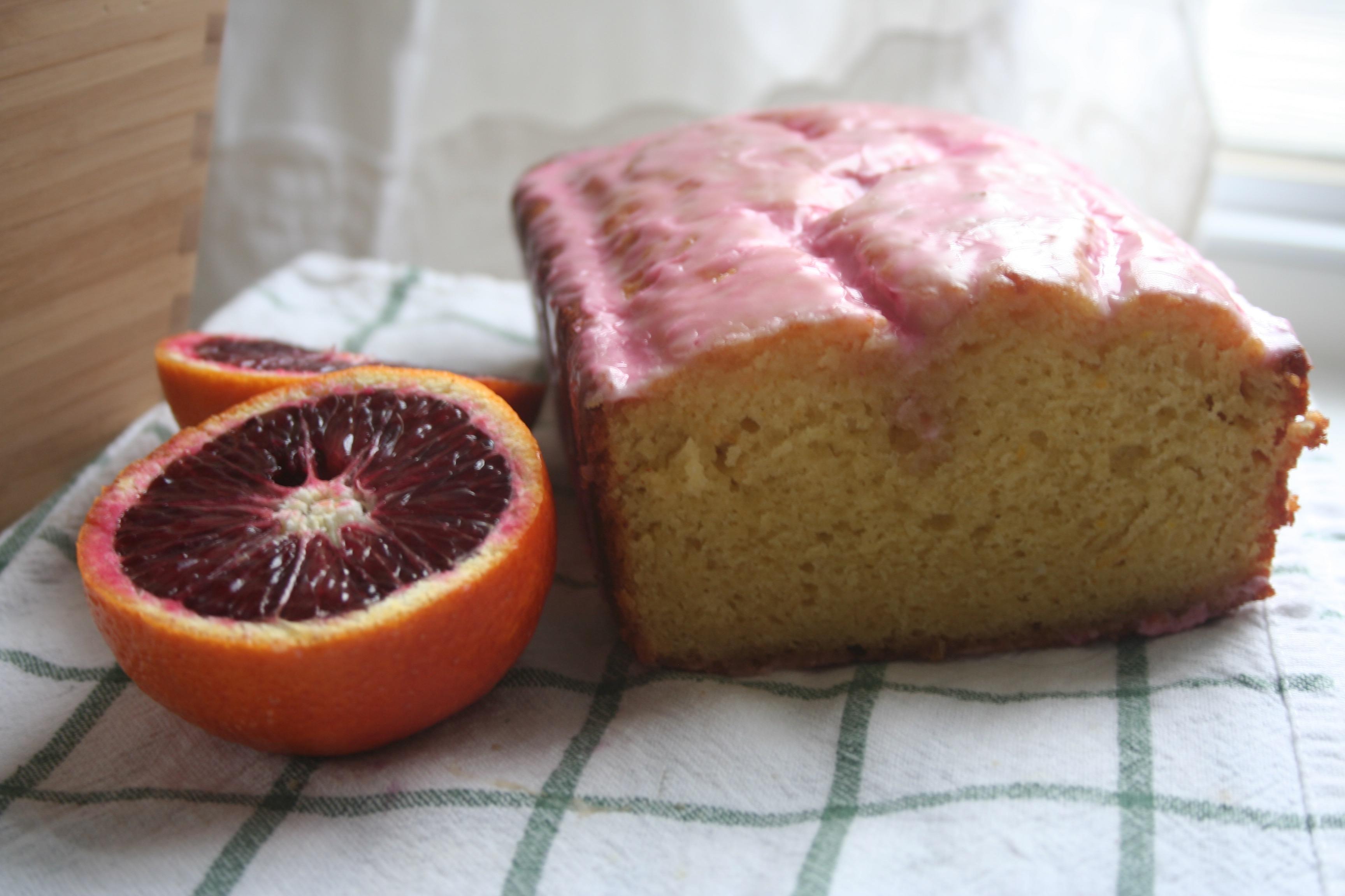 blood orange olive oil cake • Oh, honey honey