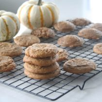 honey pumpkin spice cookies