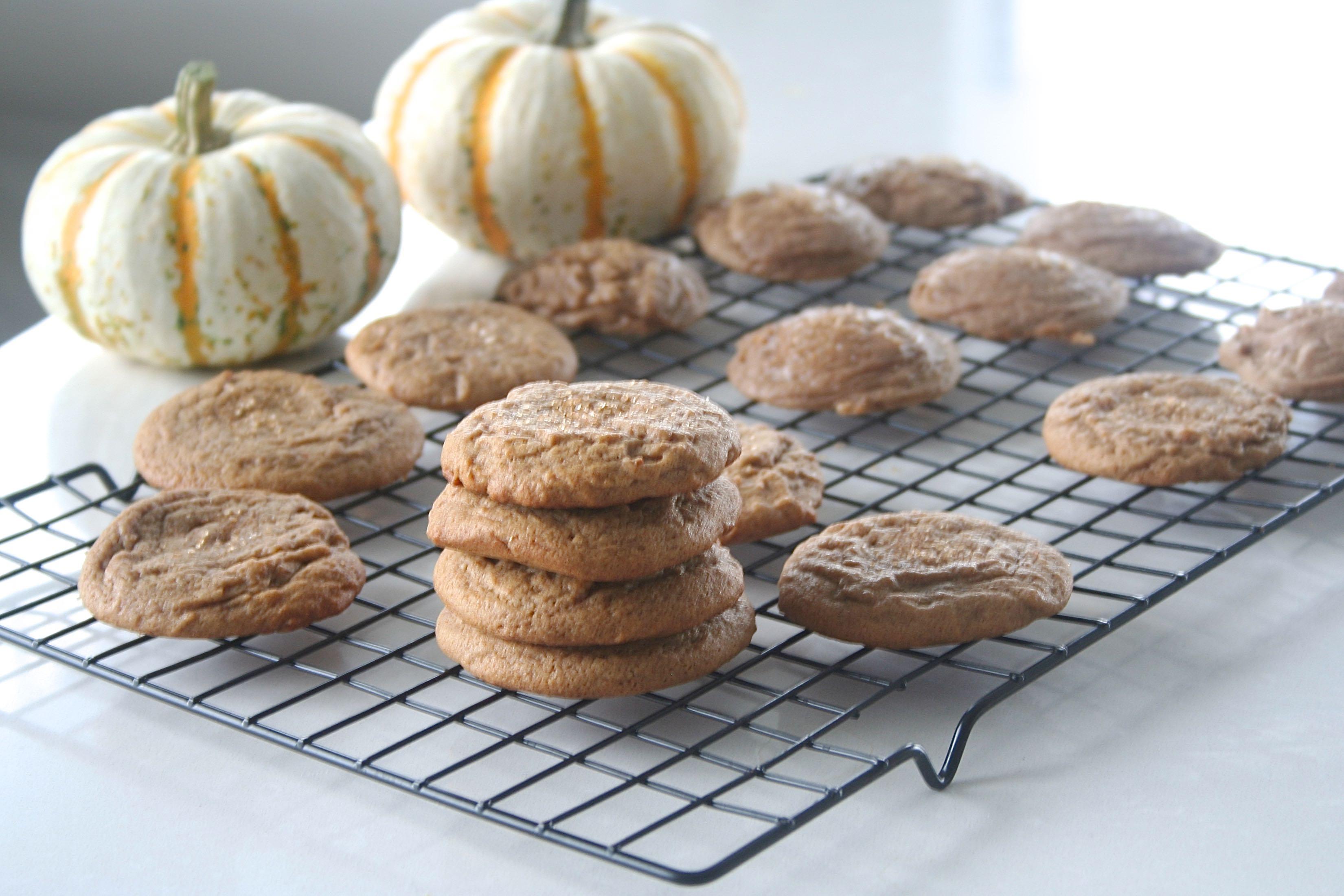 honey pumpkin spice cookies