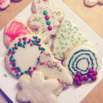 fantasy friday holiday cookies